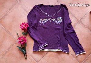 Blusa lilás, M