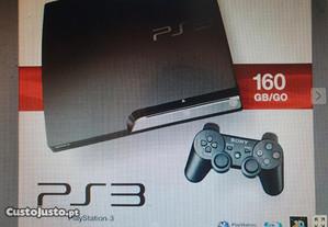 Playstation 3 - 160GB - 465GB (reais)