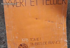 Catálogos de Selos Francês 1978 (3 Vol.) raríssimo