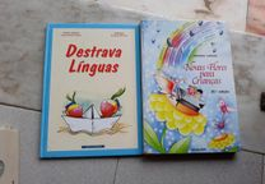 Obras de Luisa Ducla Soares e Fernando Cardoso