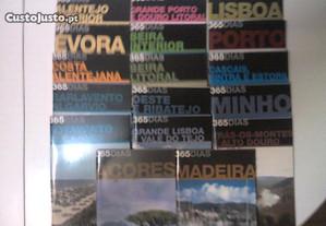 Fasciculos lugares Lisboa e Porto-guias regiões