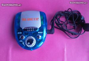 Radio auto scan FM Azul