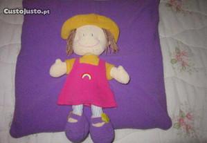 almofada para criança menina boneca