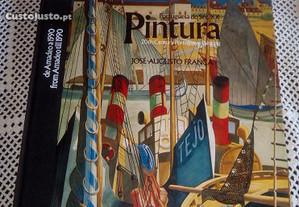 Álbum selos Pintura Portuguesa sec XX