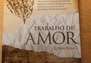 Trabalho de amor Gillian Rose