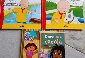 Livros do RUCA e da DORA
