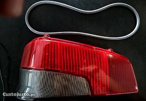 635243 Vidro para farol traseiro esq. Peugeot 106