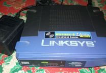 Wireless - g 2.4 GHz linkys completo