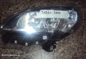 Fiat Doblo 2015- farol