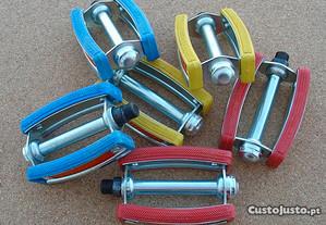 Pedais Cores bicicletas antig BMX/Chopper/dobrável
