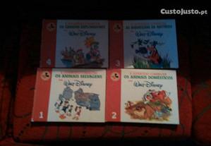 4 livros walt disney á divertido conhecer