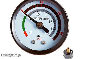 Manómetro de vácuo/pressão