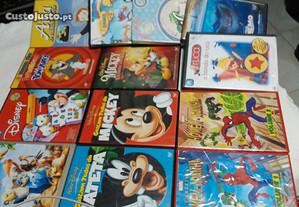 Filmes dvd p/ crianças originais novos