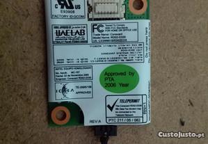 Modem + Conector Rj11 Toshiba - Usados