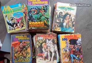 Livros Banda Desenhada - Mundo de Aventuras