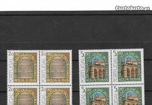 Série completa de selos nova em quadras. 1978