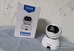 Câmera vigilância FULL HD s/ fios WiFi, ( NOVA )