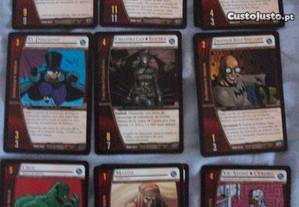 17 Cartas DC VS System e Marvel