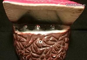Ninho de andorinhas em cerâmica - Artigo raro