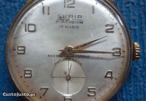 relógio de pulso a corda a trabalhar SERIP