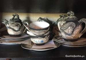 Serviço chá verdadeira marca chinês 12