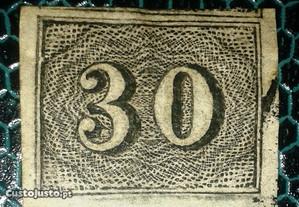 Stamp Brazil Value stamps -new design (1850)