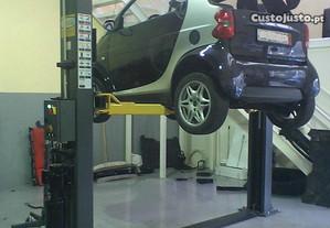 Oficina básica de pneus e serviços rápidos