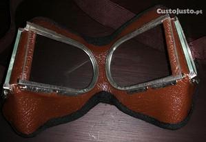 Óculos raros/colecionável vintage estilo steampunk