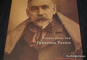 Livro Poemas Lidos por Fernando Pessoa