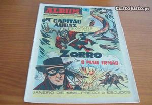 Album do Cavaleiro Andante nº8 Janeiro de 1955