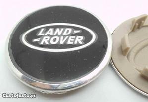 Simbolo Land rover preto 62mm cinza