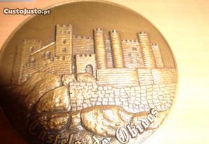 Medalha Castelo de Óbidos Oferta Envio