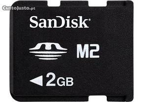 Sandisk Cartão MS Micro M2 2GB - Novo