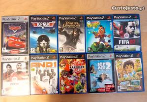 Jogos PS2 - individual ou pack1