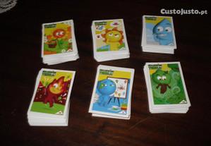 Lote de 200 cartas guardiões da Terra Lidl