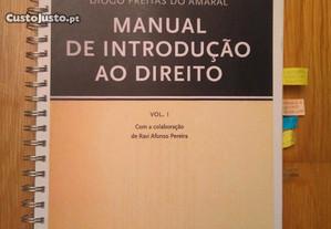 Freitas Amaral - Manual de Introdução ao Direito