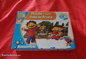 Puzzle de 24 peças + Livro Casa da Árvore