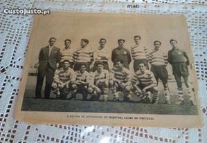 Equipa d aspirantes do Sporting clube de Portugal