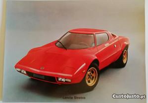 Postal Lancia Stratos 1973