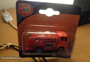 Carro Bombeiros Miniatura Rik&Rok 1:64 Of.Envio