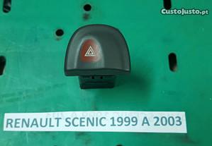 Botão dos 4 piscas Renault scenic