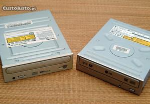 Leitores/Gravadores internos CD/DVD