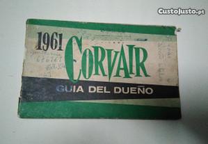 Manual de proprietário Corvair Monza