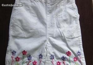 calção ou calções menina 12 meses 18 meses