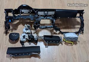 Kit Airbags Lexus IS Tablier Original Completo