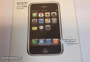Película protecção ecrã telemóvel smartphone