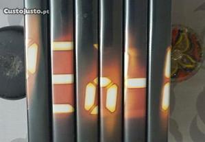 6 DVD Série 24, primeira série 2001