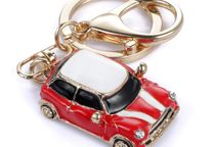 Porta Chaves - Car Mini Cooper - Ctt Grátis