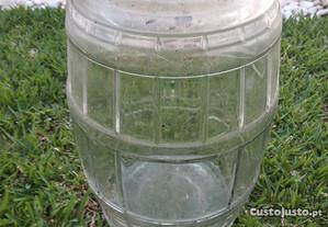 Frasco vidro antigo 10 litros