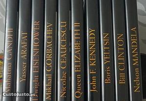 10 DVD Biografias de personalidades históricas